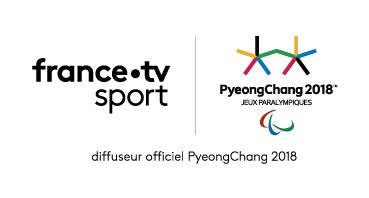 Logo France TV Sport, diffuseur officiel des Jeux Paralympiques PyeongChang 2018. Le lien vers les vidéos ouvre une nouvelle fenêtre.