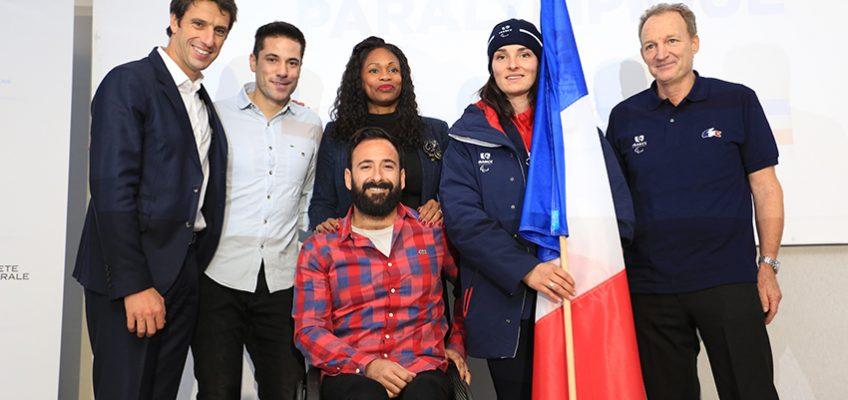 J-100 : l'Équipe de France Paralympique emmenée par Marie Bochet !