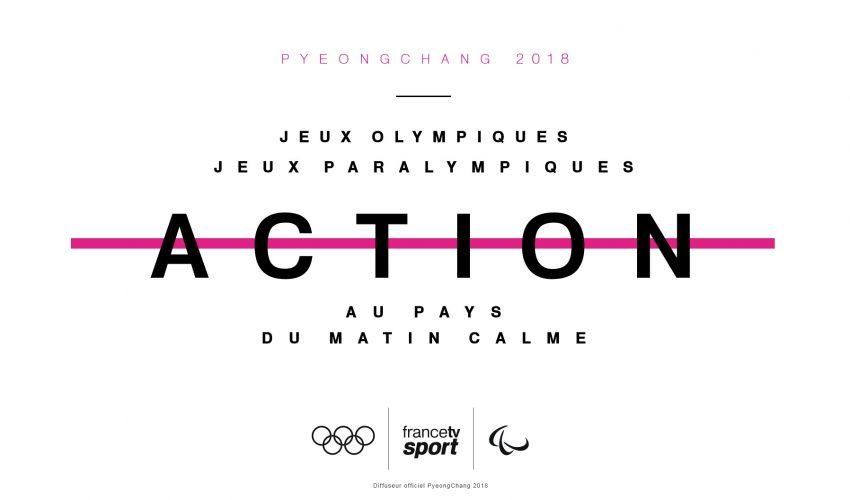Suivre les Jeux sur France Télévisions